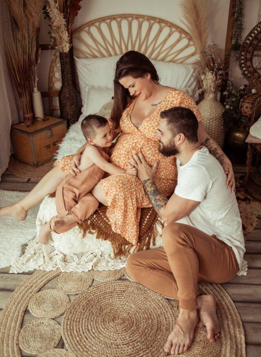 Photo d'une famille
